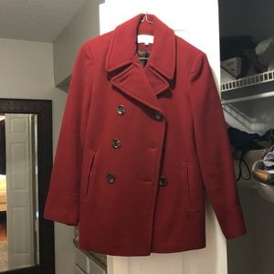 Calvin Klein Red Winter Coat